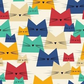 cats - nala cat classic blue - geometric cats