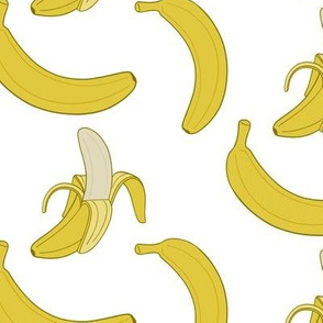 Bananas - white