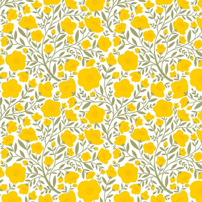 yellow blossoms olive