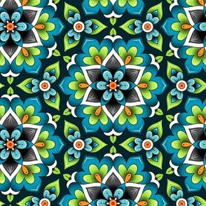 marrakesh rosette green
