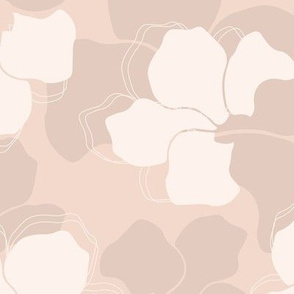 Soft peach pattern