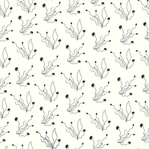 Gentle light beige pattern