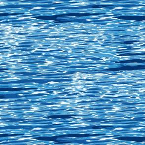 bright ocean ripples