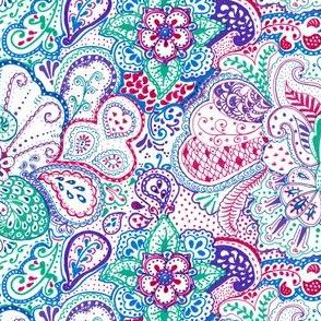 doodle art pattern