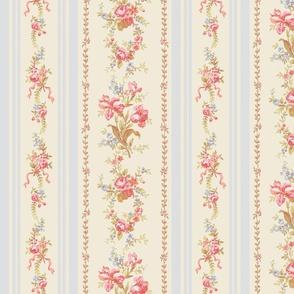 Belevedere Floral Stripe ~ Gabrielle