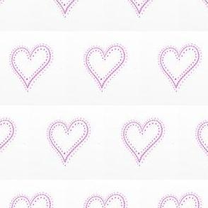 HE_7810 Decorative Pink Heart Plus