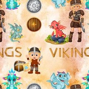 Dragons And Vikings