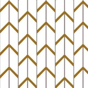 Golden Herringbone