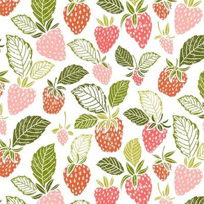 Sweet Spring Summer Strawberries by Angel Gerardo
