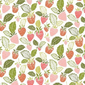 Sweet Spring Summer Strawberries by Angel Gerardo - Small Scale