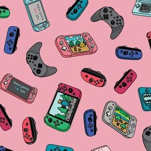 Pink New Game Kawaii Gamer Pastel