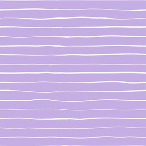 White hand-drawn lines on a purple background.