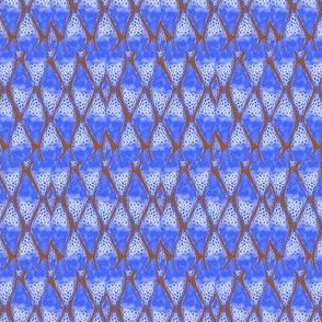 PA_33375_J-Abstract Diamonds Blue , White and Maroon