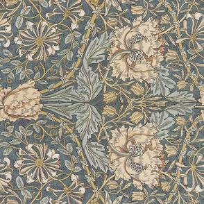 William Morris ~ Honeysuckle ~ Rotated