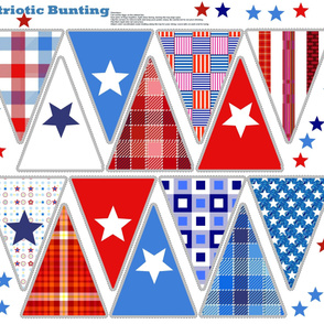 Bunting - patriotic