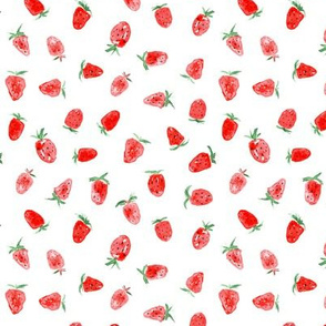 So sweet strawberry ★ small scale berry design for summer