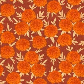 Marigold - terra cotta