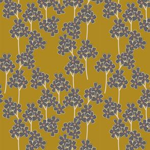 Blossom Branch - Mustard