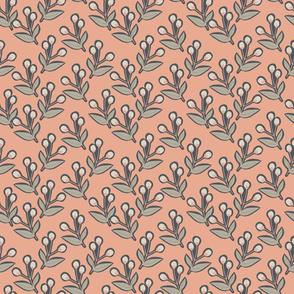 Contemporary Blossom 2 - Peach