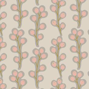 Contemporary Berries - Cream