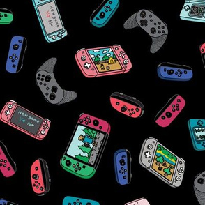 Black New Game Video Game Controllers