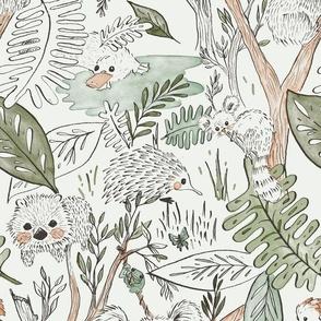 Australian Animal Safari - Blanket Scale