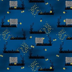 Illuminated Fireflies