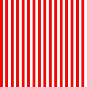 1/4 inch Red Stripe