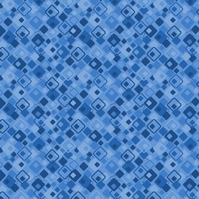 Copacetic: Classic Blue Micro Print, Geometric Ditsy