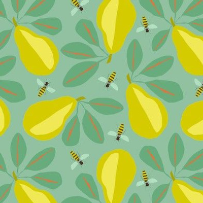 PAPERCUT PEARS AND BEES